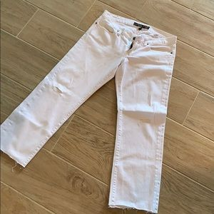 Lucky Jeans white/ distressed